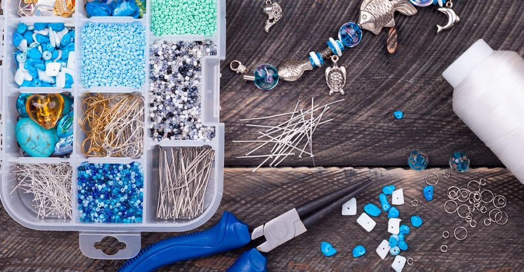 Herramientas, componentes y creación de joyería