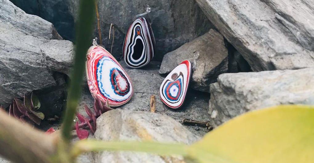 Fordita, piedra para joyería. Karati